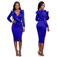 Xxl Größe Frauen Kleid Kaufen -Sexy Clubkleid Short Boycon Sogar Nacht Weiß Plus Size Korean Celebrity V Nacken Tight Woman Open Bust Bleistift Party Designer Coloful Fit XXL