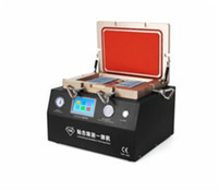 Wholesale Build Parts - NEW And Good Price 2 in 1 OCA Laminating Machine with remove Bubbler Built-in Pump and Compressor Support Max 12inch LCD Repair parts