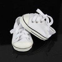 Wholesale Zapf Dolls - New White Sneaker Fit For 43cm Baby Born Zapf doll shoes freeshipping