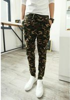 Wholesale Camouflage Pant Wide Leg - Mens Casual Pants Army Green Military Joggers Sports Trousers Camouflage Gym Compression Clothing Sweatpants Pantalones Hombre