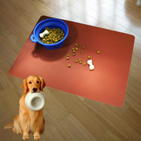Wholesale Pet Dog Puppy Cat Feeding Mat Pad Cute Silicone Bed Dish Bowl Food Water Feed Placemat