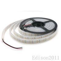 Wholesale ip67 led strip 3528 - SMD 3528 LED Strip 5M Reel 240leds meter 1200LED IP67 Waterproof Flexible Strip Light White Warm White Free DHL
