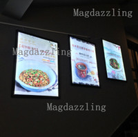 Großhandel- Snap Open Frame Restaurant LED Menu Light Box A1 Größe