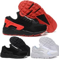 outdoor lighting sets - Air Huarache Triple Black Red White Set Breathable Premium Running Shoes Best Quality Huaraches Run Ultra BR hot sale