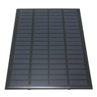Wholesale Quality Solar Systems - High quality 18V 2.5W Polycrystalline Stored Energy Power Solar Panel Module System Solar Cells Charger 19.4x12x0.3cm