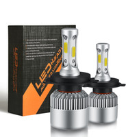 Wholesale Cob Car - LED Car Headlight H7 H4 H1 H3 H11 H13 9004 9005 9006 9007 HB4 Auto Headlamp Bulb 72W 8000LM 6500K COB Front Fog Light