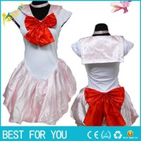 Wholesale Sailor Mars Cosplay Costume - New Arrival Ladies Sexy Sailor Moon Costume Cartoon Movie Cosplay Girl Mercury Moon Mars Dress Wholesale Halloween Costumei