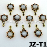 Wholesale Decals For Cell Phones - 100Pcs Alloy Nail Art Rhinestones Decals For Nail Decoration Styling Tools Cell Phone Jewelry Accessories art of war 3