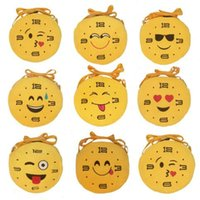 Wholesale pendants designs cute for sale - Group buy 8 Designs Hot QQ Expression Coin Purses Cute Emoji Plush Pendant Change Pocket Women Girls Creative Chirstmas Gifts CCA6949