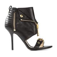 Wholesale Trendy Boots Buckles - 2016 women sandals zip buckle peep toe women stiletto heel high heels sandals woman sandalias fashion trendy sandals summer boots