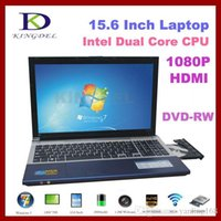 "Wholesale Dual Core 15 Laptop - 15.6"" Gaming Notebook computer cheap laptop Intel Celeron 1037U Dual Core+4GB RAM+640GBHDD+DVD-RW+1080P HDMI+Webcam"