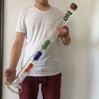 "Wholesale Arm Guards - Big glass bong ,30.3"" ,3 layers 4 arm perc ,1 layers splash guard ,28mm joint have 28-19 downstem and 19mm bowl"
