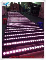 cortina preta luzes led venda por atacado-2x dj iluminação arruela da parede rgbw 4em1 24x10 w arruela da parede ao ar livre, iluminação de palco dmx arruela da parede led
