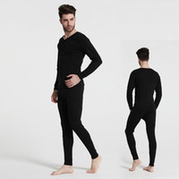 Calda biancheria intima termica da uomo Tute Fondo in pelliccia Pelliccia Fleeced Long Johns Waffle Knit Keep Warm Canotta Leggings Run Small