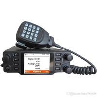 Wholesale Car Mobile Uhf Radio - 2016 dmr digital radio uhf vhf walkie talkie CDM-550H mobile radio high quality car radio ham radio compatible with Mototrbo two way radio