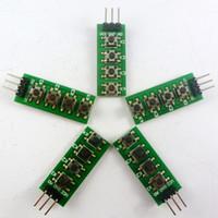 ingrosso kit di avviamento per arduino-5 PZ 3-5 V 4 Tasti Tastiera AD Tastiera analogica pulsante di uscita per Arduino nano uno raspberry pi 3 breadboard stm32 starter kit