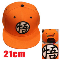 Wholesale Dragonball Z Cosplay - Hot Anime Goku dragonball super Z Cosplay Cap yellow Novelty cartoon Hat charms Costume Props Baseball cap