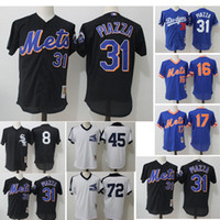 Wholesale Custom New York Mets Los Angeles Dodgers Chicago White Sox Mesh Mitchell Ness Cooperstown baseball Jersey
