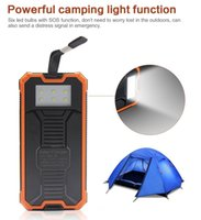 Hot Top FULL8000mAh Portable Solar Power Bank Bateria de carregador de backup USB USB dupla