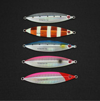 Wholesale 2017 Price Dyna Jig Slow gr Fishing Flutter Jig Lure of Fishing Tackle and Metal Luminous Baits for Saltwater
