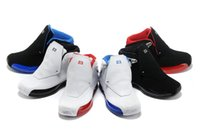 Wholesale Massage 18 - 6 colors 100% cheap high quality man's 2018 new 18 basketball shoes athletic sneaker sport shoe US size 8 -13 Free Shipping