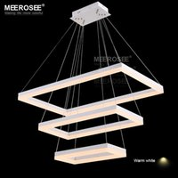 Rectangle led chandeliers canada best selling rectangle led 2016 modern led rectangle chandelier new arrival led acrylic suspension lighting white led hanging lustre for living room bedroom aloadofball Choice Image
