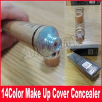 Wholesale Full Base - High quality hot Base Cover Extreme Covering Foundation Hypoallergenic Waterproof 30g Tatoo brandd Skin Concealer 14 color
