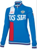 Wholesale Russian Women Clothing - Bosco sports clothing Russian Sochi Forward national team two piece sports jacktes pants women's coat sports sets Tracksuit female Yuri on