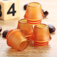 Wholesale dual tip drip for sale - Group buy 810 PEI Drip Tips Wide Bore Drip Tip Mouthpieces with dual O Ring For TFV8 TFV12 TFV8 Big Baby DHL Free