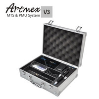 Wholesale product levels - New products Artmex V3 Tattooing Machine Permanent Makeup Machine Electric Tattoo tools Adjustable 10 levels of speed control