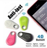 Wholesale anti lost child safety alarm resale online - Itag Safety Protection Smart Key Finder Tag Wireless Bluetooth Tracker Child Bag Wallet Keyfinder GPS Locator Tracker itag Anti lost Alarm