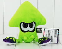 Wholesale Backpack For Dolls - 2017 Hot Game 23cm Splatoon Plush Toys Kawaii Squid Stuffed Doll With Key Ring Pendant For Backpack