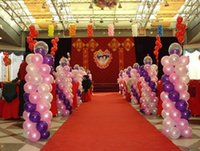 Wholesale Cheap Balloons Free Shipping - Free Shipping 100pcs Lot 10inch 1.8g Ball Balloons Pearl Wedding Party Birthday Decoration Balloon Artificial Exhibition Decorations Cheap