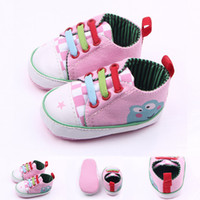 Wholesale Frog Shoes - Spring and autumn style three color lacing frog baby shoes baby shoes baby shoes