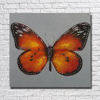 diseños de pintura para dormitorios. al por mayor-Envío gratis diseño decorativo hermosa pintura al óleo de la mariposa en cnavas pintado a mano Wall Pictures For Bedroom