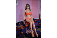 Wholesale Love Doll China Oral - 158CM JYJY Top quality real silicone sex dolls with metal skeleton, full size love dolls, oral anal small breast 158CM New china sex doll.