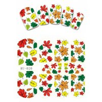 Wholesale Nail Stickers Flags - 10PCS LOT NAIL ART BEAUTY STICKER DECAL SLIDER FRUIT STRAWBERRY MAPLE LEAF BLUE SKY STARRY NIGHT CHERRY FLAGS RU019-027