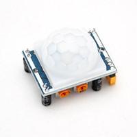 ingrosso regolazione del sensore-Vendita calda Regolare IR Pyroelectric Infrarossi IR PIR Sensor Detector Module HC-SR501 A5
