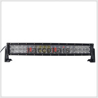 Wholesale 22 Inch Led Light Bars - 22 inch 200W 5D Curved CREE LED Work Light Bar for Tractor Boat OffRoad 4WD 4x4 Truck SUV ATV Spot Flood Combo Beam 12V 24v