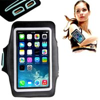Case Armband Universal Exécution réglable Gym Sports Arm Band Bag Phone Holder Pounch imperméable couvre les cas pour iPhone6 ​​6S 6S, plus