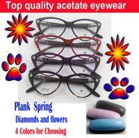 high garde plank eyeglasses cateye glasses women frames eyewear eyewear folding eyeglasses spectacles cheap wholesales free shipping in bulk
