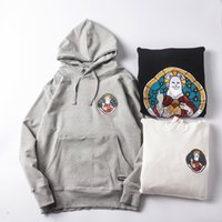 Wholesale Hip Hop Lady S - Ripndip Lord Nermal Rose Hoodies Men Hip Hop Fingers Pocket Cat Kawaii Flower Pope Our Lady Supremo Skateboard Kanye Sweatshirts YEE33221