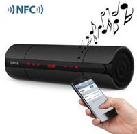 Wholesale Mini Sound Box Boombox Mp3 - NFC FM HIFI mini bluetooth speaker KR-8800 wireless stereo portable loudspeakers bluetooth boombox super bass caixa de som sound box system