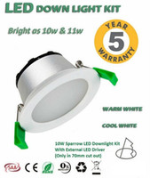Wholesale Satin Bedding Wholesale - 9W led downlight cutout 90mm 890lm(including the external power supply )LED smd 5630 lamp White frame & satin frame non-dimmable