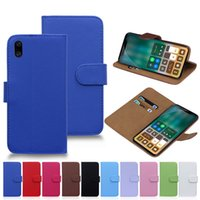 Wholesale Book Wallet Iphone Case - Ultra Leather Wallet Cases for iPhone X Book Wallet Flip Case Cover for iPhone 6 7 8 Plus Samsung S7 S8 Plus