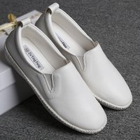 Wholesale Free Online Store - 2016 Hot-selling Women flats Comfortably round-toe White color Plus size 34-44 Cheap online stores Casual white color loafers Free shipping
