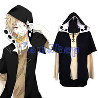 Wholesale Project Games - Wholesale-Heat Haze Project Kagerou Project Kano Cosplay Hoodie Coat Jacket + T-shirt Anime MekakuCity Actors Costume Hooded Sweatshirt