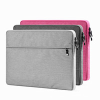 Le plus récent Soft Laptop Sleeve Bag Protective Zipper Notebook Case Housse d'ordinateur pour 11 13 15 pouces Pour Macbook Air Pro Retina