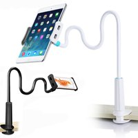 Wholesale Ipad Arm Holder - Cell Phone Holder Universal Flexible Long Arms Mobile Phone Holder Desktop Bed Lazy Bracket Mobile Stand Support for iPhone IPad