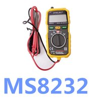 Wholesale Multimeter Ac Voltage - High Quality Non-Contact Digital LCD Multimeter DC AC Voltage Current Tester MS8232 Voltmeter Ammeter Multitester